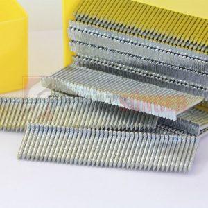 Steel T staples