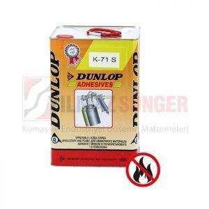 Dunlop K 71 S foam adhesive net 15 kg.