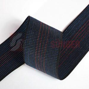 Elastic webbing 7 cm 4 lines
